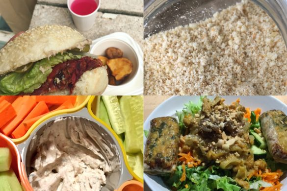 Une semaine de repas vegan