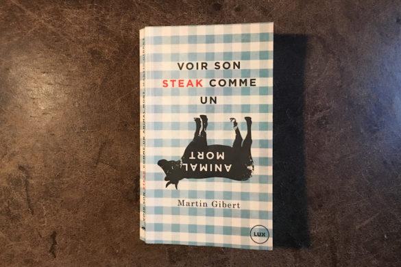 """""""Voir son steak comme un animal mort"""""""