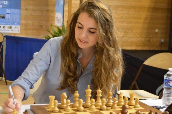 Cyrielle, championne d'échecs